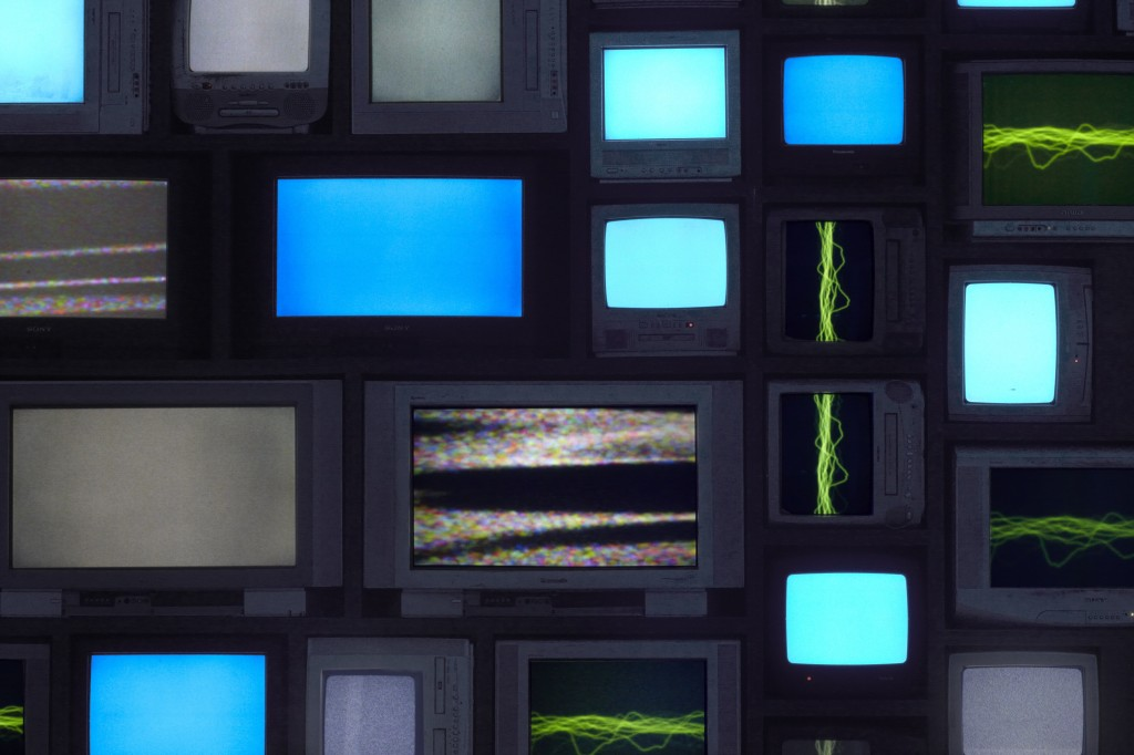 SUSAN HILLER: CHANNELS (DETAIL)
